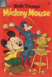 Walt Disney's Mickey Mouse [MM series] (WG Publications, 1953 series) #M.M.9 — Untitled (Cover)