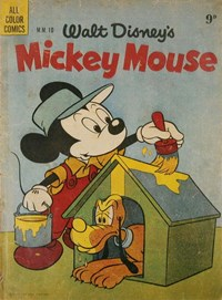 Walt Disney's Mickey Mouse [MM series] (WG Publications, 1953 series) #M.M.10 — Untitled (Cover)