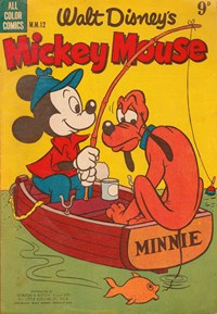 Page 1—Walt Disney's Mickey Mouse [MM series] (WG Publications, 1953 series) #M.M.12  (October 1954)