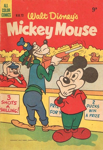 Walt Disney's Mickey Mouse [MM series] (WG Publications, 1953 series) #M.M.13 (November 1954)