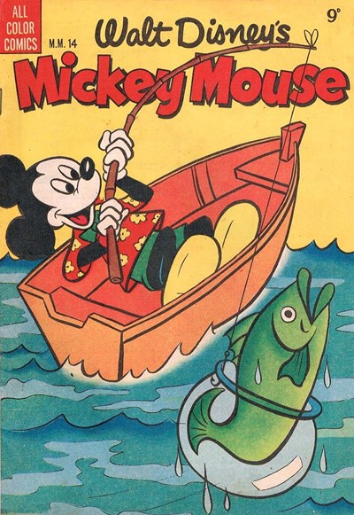 Walt Disney's Mickey Mouse [MM series] (WG Publications, 1953 series) #M.M.14  (December 1954)