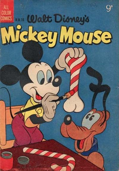 Walt Disney's Mickey Mouse [MM series] (WG Publications, 1953 series) #16 (February 1955)