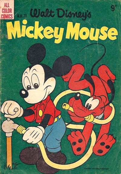 Walt Disney's Mickey Mouse [MM series] (WG Publications, 1953 series) #23 ([1956?])