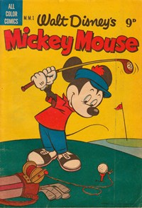 Walt Disney's Mickey Mouse [MM series] (WG Publications, 1953 series) #M.M.1 — Untitled (Cover)