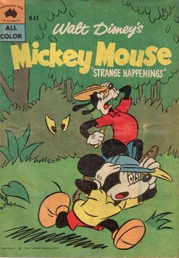 Walt Disney's Mickey Mouse [M series] (WG Publications, 1956 series) #M.43 (June 1960)