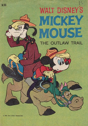 Walt Disney's Mickey Mouse [M series] (WG Publications, 1956 series) #M.96 ([November 1964])
