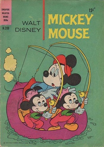 Walt Disney Mickey Mouse [M series] (WG Publications, 1967 series) #M209 (1974)