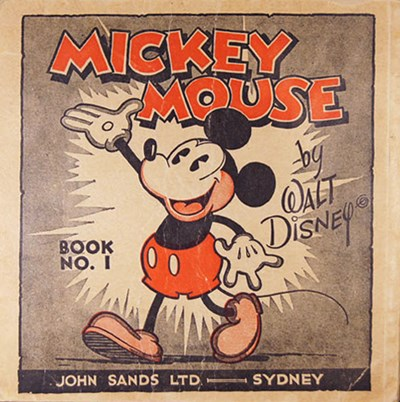 Mickey Mouse by Walt Disney (John Sands, 1933 series) #1 ([1933?])