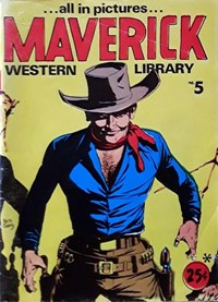 Maverick Western Library (Yaffa/Page, 1971 series) #5 — Untitled (Cover)