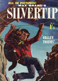 Max Brand's Silvertip (Regal, 1960? series) #5 — Valley Thieves