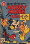 Walt Disney One-Shot Comic [OS series] (WG Publications, 1948 series) #23 (1951) —Walt Disney's Mickey Mouse and Pluto