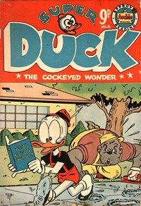 Super Duck the Cockeyed Wonder (HJ Edwards, 1955? series) #6