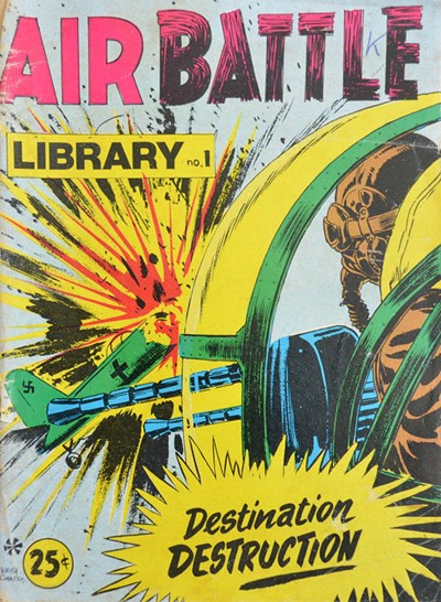 Air Battle Library (Yaffa/Page, 1974 series) #1 ([October 1973?])