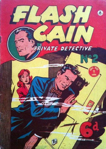 Flash Cain Private Detective (KG Murray, 1949? series) #2  ([1949?])