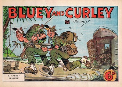 "Bluey and Curley (""Truth"" and ""Sportsman"", 1942? series)  ([1945])"