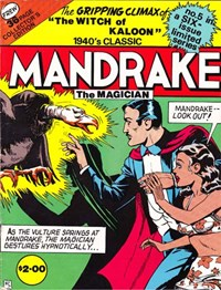 Mandrake the Magician (Frew, 1990 series) #5 — The Witch of Kaloon