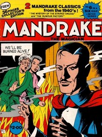 Mandrake the Magician (Frew, 1990 series) #6 — Untitled