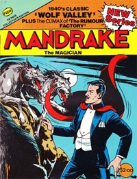 Mandrake the Magician (Frew, 1990 series) #7 — Wolf Valley (Cover)