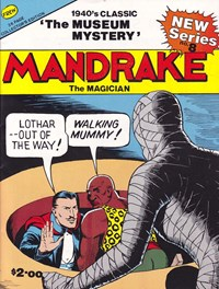 Mandrake the Magician (Frew, 1990 series) #8 — The Museum Mystery