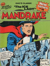 Mandrake the Magician (Frew, 1990 series) #11 — The Ice Lady (Cover)