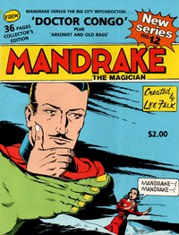 Mandrake the Magician (Frew, 1990 series) #12 — Doctor Congo