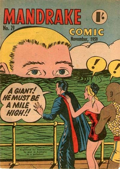 Mandrake Comic (Shakespeare Head, 1955 series) #29 (November 1959)