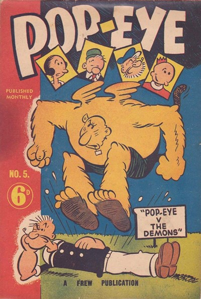 Pop-Eye (Frew, 1949 series) #5 ([August 1949?])