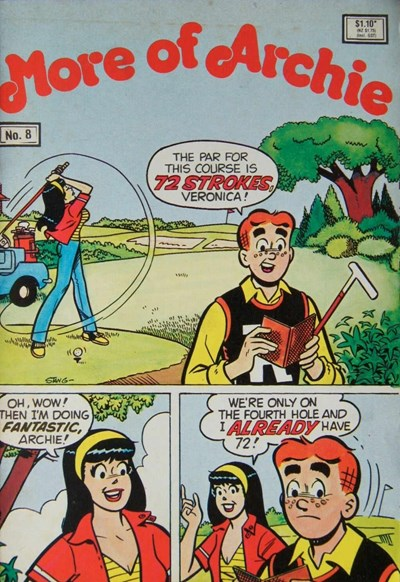 More of Archie (Yaffa, 1980? series) #8 (1988)
