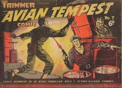 Little Trimmer Comic (Approved, 1950 series) #7 ([June 1951?]) —Featuring Avian Tempest