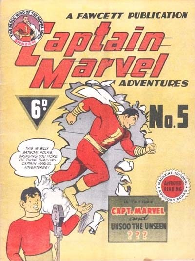 Captain Marvel Adventures (Vee, 1946? series) #5 ([1946?])