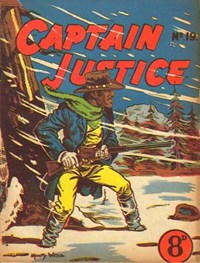 Captain Justice (New Century, 1950 series) #19 — Untitled