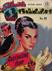 Silhouette Romance Library (Reigate, 1957? series) #35 — Captivating Lover