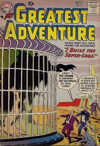My Greatest Adventure (DC, 1955 series) #16 — I Built the Super Cage!