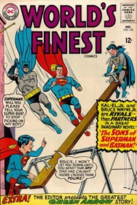 World's Finest Comics (DC, 1941 series) #154 — The Sons of Superman and Batman