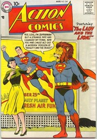 Action Comics (DC, 1938 series) #243 — The Lady and the Lion