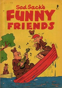 Sad Sack's Funny Friends (Junior Readers, 1958? series) #5 — Untitled