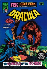 Tales of Horror Dracula (Newton, 1975 series) #5 (1975)