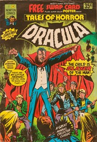 Tales of Horror Dracula (Newton, 1975 series) #6 (October 1975)