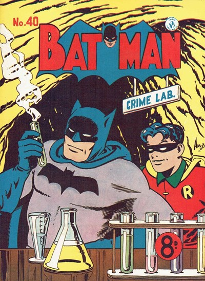 Batman (Colour Comics, 1950 series) #40 ([September 1953])