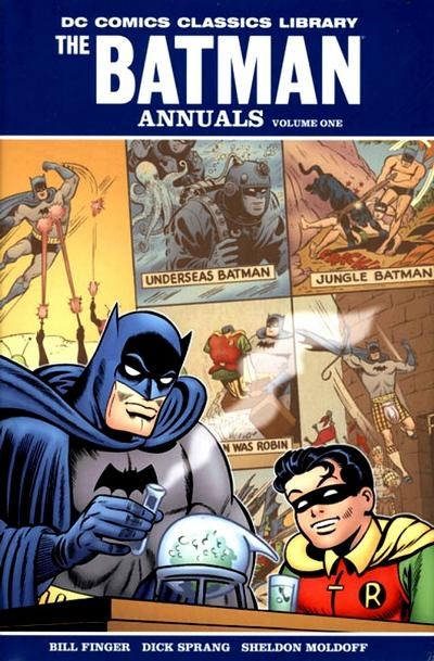DC Comics Classics Library: The Batman Annuals (DC, 2009 series) #1 (April 2009)