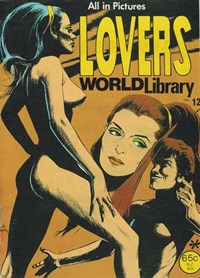 Lovers World Library (Yaffa/Page, 197-? series) #12 — No title recorded (Cover)