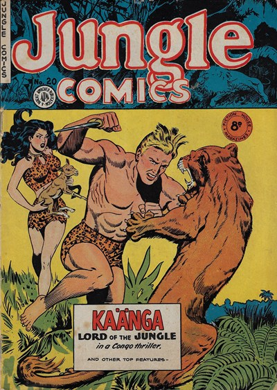 Jungle Comics (HJ Edwards, 1950? series) #20 ([1952?])