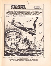 Authentic War Stories (KG Murray, 1974? series) #1 — Operation Vengeance (page 1)