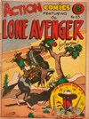 Action Comic (Leisure Productions, 1948 series) #23 ([1948?]) —Action Comics Featuring The Lone Avenger