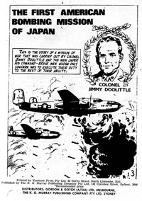 Authentic War Stories (KG Murray, 1974? series) #2 — The First American Bombing Mission of Japan (page 1)
