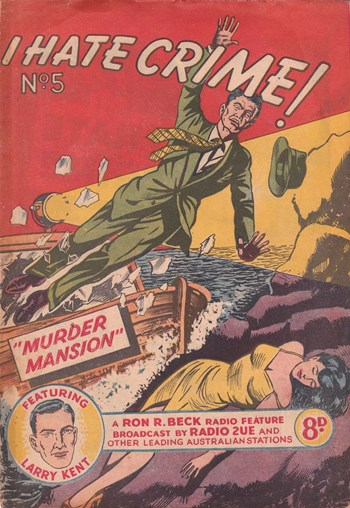 Murder Mansion—I Hate Crime! (Young's, 1953? series) #5  ([June 1953?])