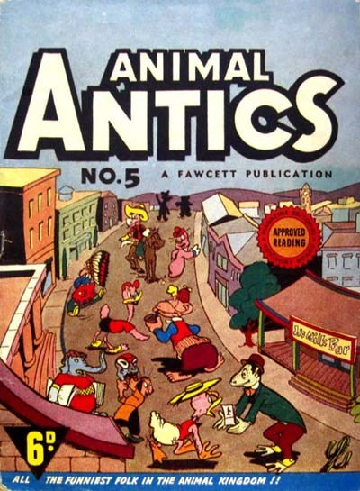 Animal Antics (Vee, 1946? series) #5 ([1946?])