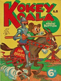 Don Quixote, Page 1—Kokey Koala and His Magic Button (Elmsdale Publications, 1947 series) #8  ([1947?])