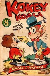 Kokey Koala and His Magic Button (Elmsdale Publications, 1947 series) #48