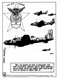 Authentic War Stories (KG Murray, 1974? series) #2 — The First American Bombing Mission of Japan (page 62)